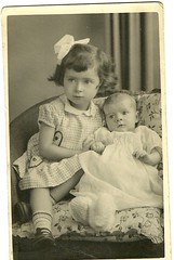 Image titled Eileen and Bernadette corr 1955