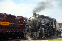 Two Harbors (Rob Mesite) Tags: railroad minnesota train diesel rail trains steam convention restored restoration locomotive passenger excursions duluth railfan excursion nrhs emd railfanning