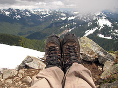 My first Summit Foot Shot. I actually remembered this time
