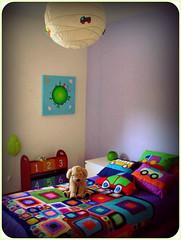 :) (Mundo a cores) Tags: kids children bedroom colorful crochet quarto blankets decor crianas decorao colorido mantas