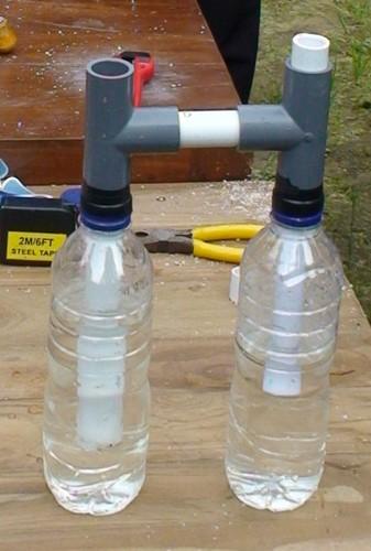 botol pengaman dan tekanan