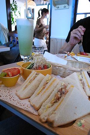 燻雞三明治 早午餐