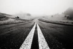hit the road (eb78) Tags: bw blackandwhite monochrome greyscale grayscale road highway mttamalpais bayarea california ca marin explore interestingness ridgecrestboulevard mttam northbay