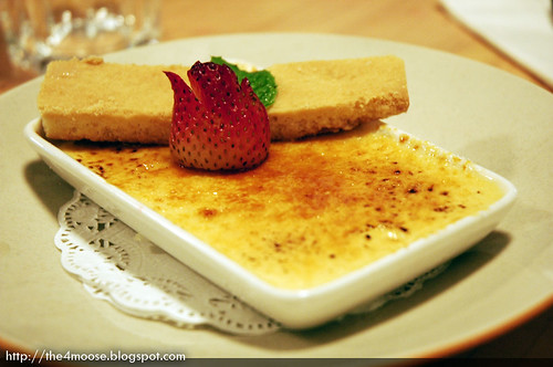 District 10 Bistro Wine Bar - Traditional Creme Brulee