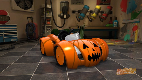 ModNation Racers - Pumpkin Sportscars