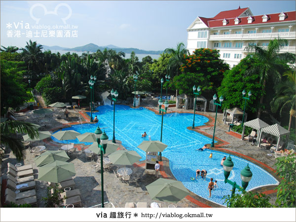 【香港住宿】跟著via玩香港(4)~迪士尼樂園酒店(外觀、房間篇)44