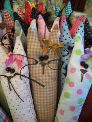 Balaio de Gatos (CANELA COOL by CAROL) Tags: cats cat artesanato craft gatos fabric gato mo tecido sachet feito handemade