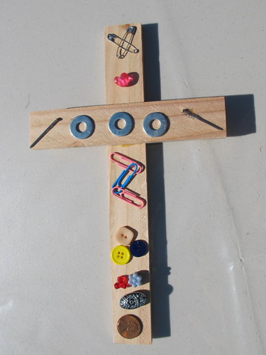 Recycled Cross Example #1