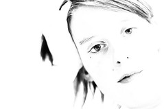 perdermi.. (ornygi ) Tags: bw me io occhi infrared biancoenero linee perdermi