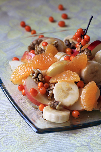 From Russia with Warmth: Fruit Salad with Sea Buckthorn