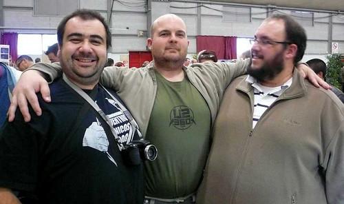Tres grandes personas