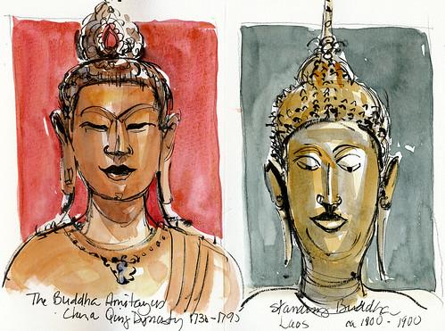 San Francisco: 2 Buddhas