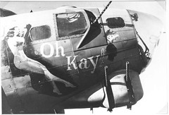 Oh Kay ! (CORDAN) Tags: aircraft wwii b17 boeing noseart veteransday avation weremember ohkay flickrgolfclub