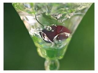 Drop of cherry