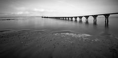 rotten pier (liebeslakritze) Tags: rotten pier jetty fähranleger calm longexposure langzeitbelichtung bw blackwhite schwarzweis ostsee balticsea
