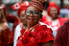 canada_Day_001 (Besisika) Tags: canada day celebration parade fete montreal 150th anniversary bokeh quebec 2017 fille damme lady woman street photography portrait environment rainy flag red white happy celebrating emmotion joy smile