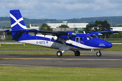 G-SGTS Twin Otter EGPF 01-07-17 (MarkP51) Tags: gsgts viking dhc6400 twinotter loganair lm log glasgow airport gla egpf scotland aviation airliner aircraft airplane plane image markp51 nikon d7200 aviationphotography
