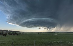 Warned LP Supercell, Entwistle, Alberta [Explored] (WherezJeff) Tags: supercell thunder storm warned entwistle alberta canada timelapse