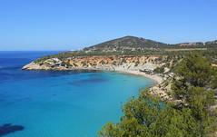 Cala playa d dhort (Graham`s pics) Tags: calaplayaddhort caladdhortbeach beach bay water sea seaside coast coastline holiday shortbreak travel tourism ibiza balearicislands spain med mediterranean mediterraneansea