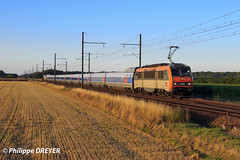 BB26195 sur train Le Bourget Ambérieu vers Chamblanc (philippedreyer1) Tags: