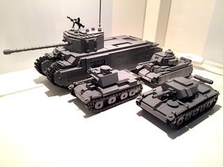 My British tanks