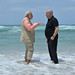 PM Netanyahu and PM Modi at Olga beach