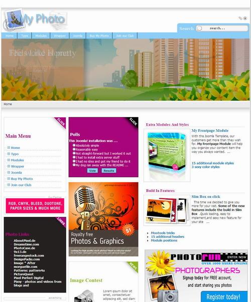 template gratuit - Business Blog