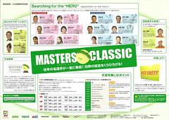 2009マスターズクラッシック表