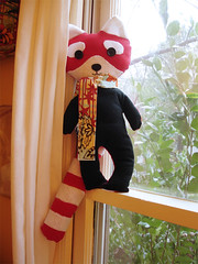 A Plush a Day Challenge! Day 22 - Barton, the Red Panda