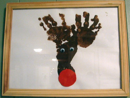 poop-looking reindeer