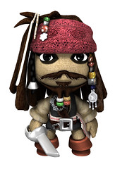 LittleBigPlanet Captain Sack Sparrow