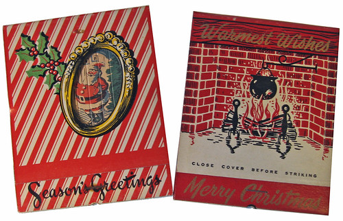 big xmas matchbooks