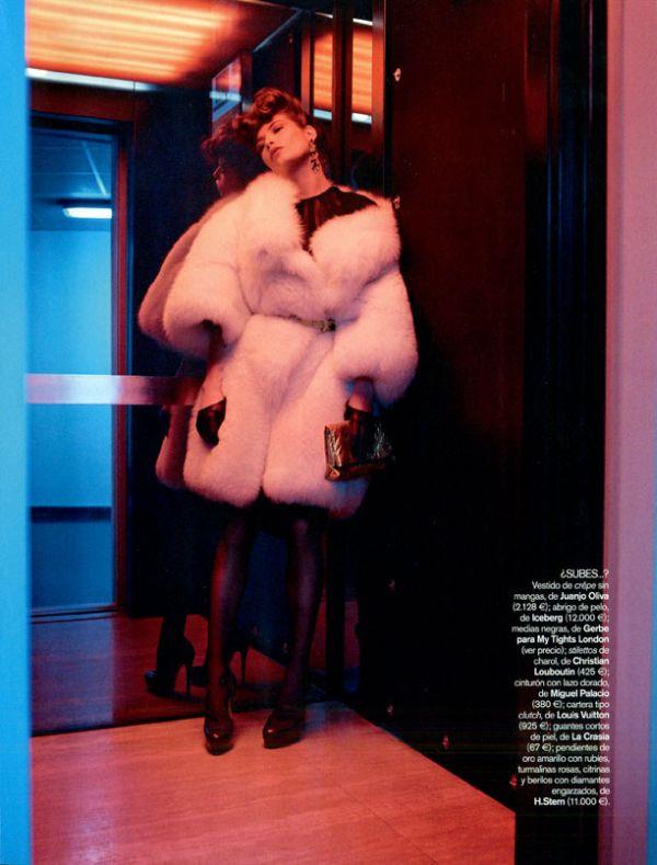 Vogue España  Louise Pedersen by Gonzalo Machado 4
