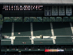 empty (trapper keeper) Tags: seattle canon mariners safeco