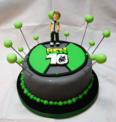 Omnitrix (Mariana Pugliese) Tags: verde blanco cake gris ben 10 negro feliz cumpleaños torta ben10 omnitrix 241543903 marianapugliese