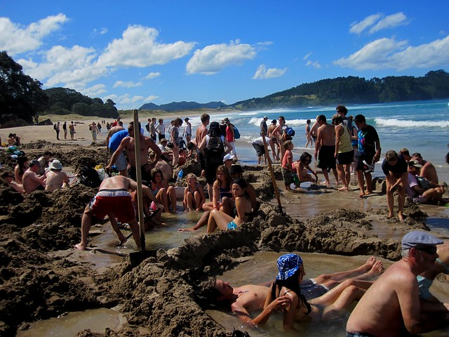 Coromandel Peninsular 10 - Hot Water Beach by Ben Beiske