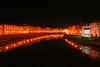 Riflessi notturni / Night reflections (Pisa, Tuscany, Italy) (AndreaPucci) Tags: italy building church lamp river italia fiume pisa chiesa tuscany arno toscana palazzo lampioni canoneos400 chiesadellaspina canonefs1855mm3556 andreapucci virgiliocompany