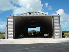 SteelMaster Metal Commercial Hangar