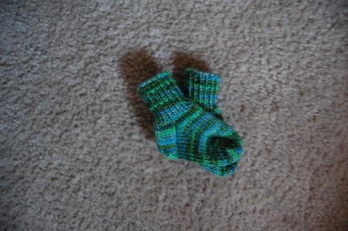 FO: Baby socks