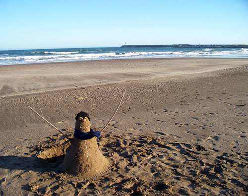 The Sandman at Puerto Quequén by katiemetz, on Flickr