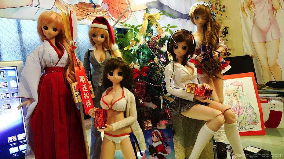 como se festeja la Navidad en Japón