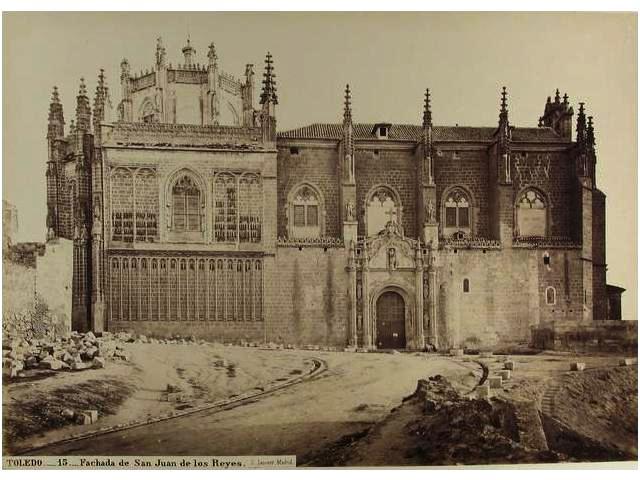 San Juan de los Reyes en el siglo XIX. Fotografía de Jean Laurent