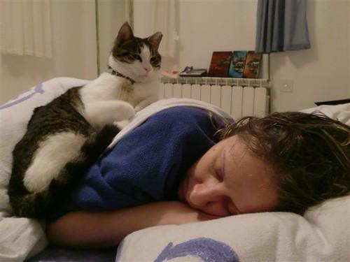 Helpful Cat Helps You Sleep