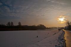Last days of 2009 (Ferdi's - World) Tags: bridge snow fun snowing ferdi winterwonderland walkingthedogs buildingmuscles nikond90 ferdisworld theyenjoythesnow throughcycling cyclingtokijkduin magiaclwinter