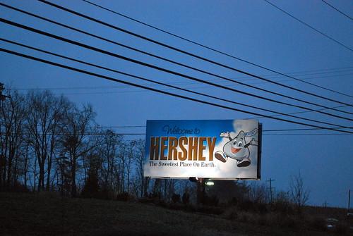 Arrival in Hershey