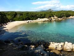 Entre la Punta di Ventilegne et la plage de Pisciu Cane : crique-plage habitée (piste et parking proches)
