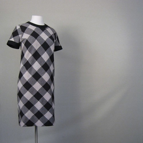 1960s buffalo check Jonathan Logan dress