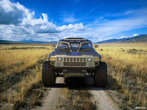 Hummer 2011 Wallpapers. Hummer HB compact off roader
