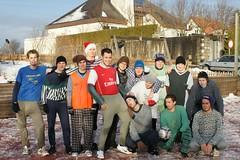 Weihnachtskicken 2009