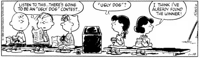 Peanuts Minus Snoopy with Charlie Brown, Linus, Sally, and Lucy